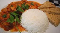Chicken Korma - Serve with plain Basmati rice and naan bread.