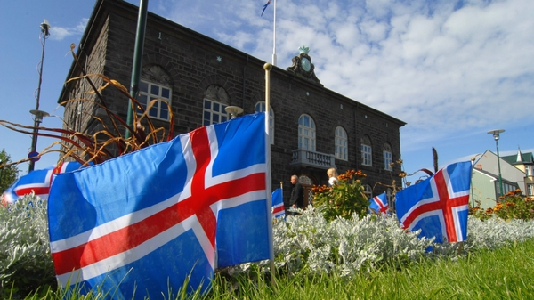 Iceland's Parliament - Vote in favour of new bank deal