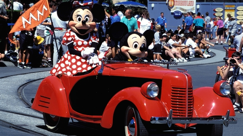 Income declined at Disney's theme parks in the US