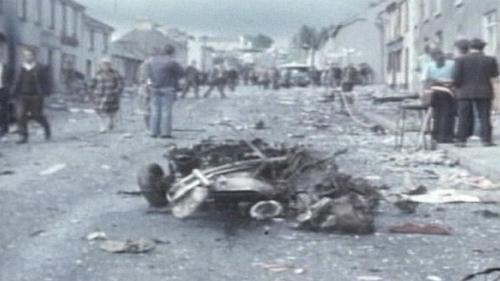 Claudy town - Nine people died in the 1972 bombings