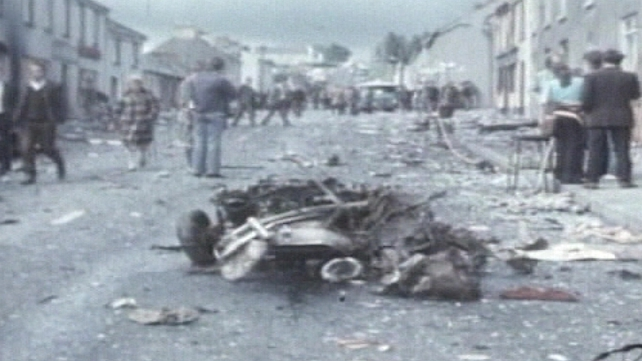 Claudy town - Nine people died in the 1972 bombings