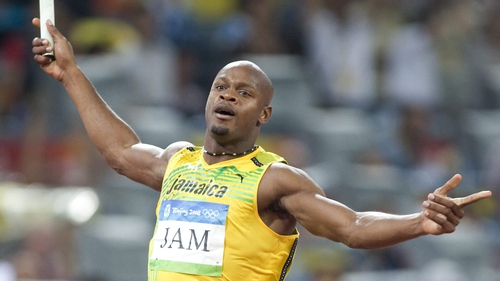 Asafa Powell was tested positive this year