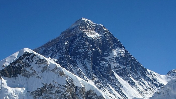 Everest - Mark Quinn reached the summit yesterday