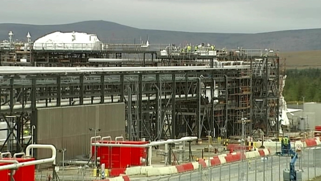 Corrib pipeline - Planning approved