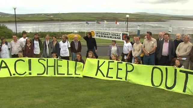 Corrib pipeline - Controversial pipeline