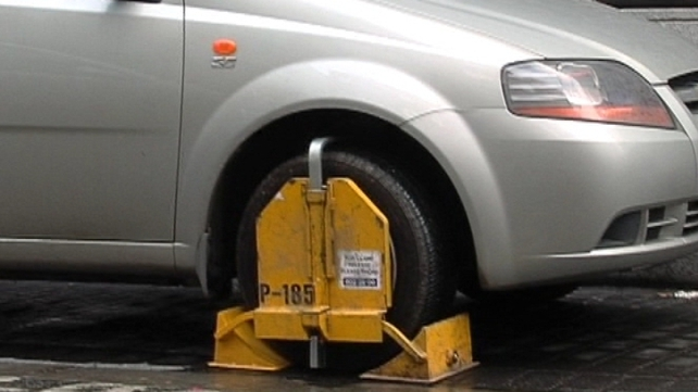 More than 2,000 cars were clamped more than five times