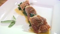 Saltimbocca Alla Romana - A delicious Italian main from Catherine Fulvio.