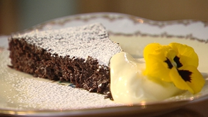 Catherine Fulvio's Amaretto and Almond Truffle Torte
