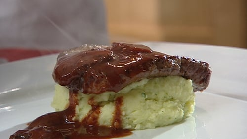 Catherine Fulvio's Beef Fillet with a Mushroom and Chianti Sauce