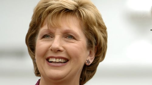 Mary McAleese - Held meeting with Mayor of Moscow