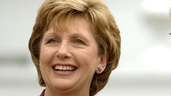Mary McAleese - To meet Dmitry Medvedev