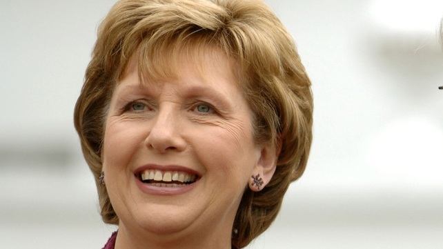 President McAleese - Says Irish people need to draw on 'resilience'