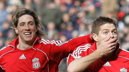 """""""I always say the best player I played with is Steven Gerrard..."""""""