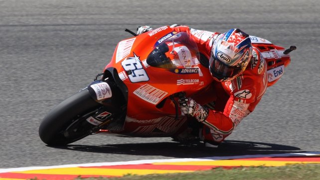 2006 World Champion Nicky Hayden