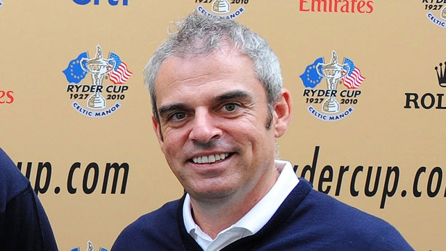 Paul McGinley captained Great Britain and Ireland to victory against Continental Europe in 2009