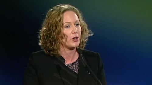 Olwyn Enright - First elected to the Dáil in 2002