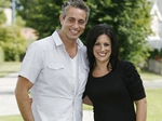 Baz Ashmawy and Lucy Kennedy