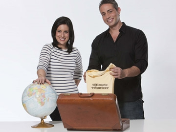 Lucy Kennedy and Baz Ashmawy