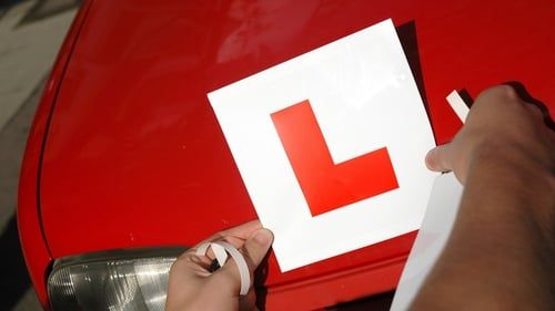 Learner drivers must display L plates and drive with a qualified driver