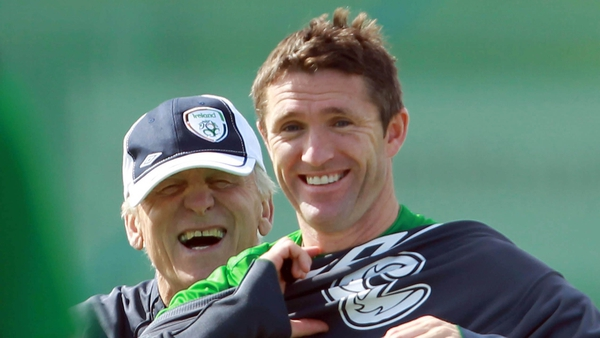 Robbie Keane - confident Ireland can catch Russia