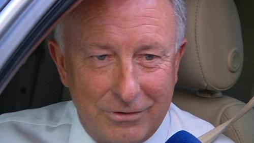 Dermot Ahern - Confirmed file was left unattended