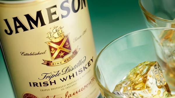 Jameson - 3 million cases sold last year