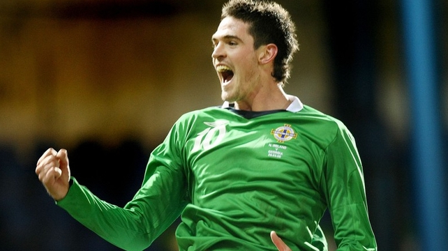 Kyle Lafferty is ruled out of the Northern Ireland squad through injury