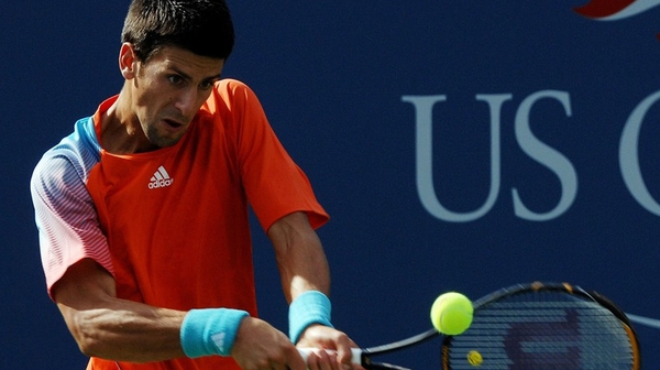 Novak Djokovic was pushed hard but still beat Philipp Petzschner in straight sets