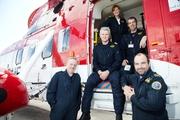 Rescue 117 - Winch operator Neill McAdam, SFO Lee Bennett, Capt. Dara Fitzpatrick and Winch operators Neville Murphy and Keith Devaney