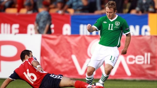 Aiden McGeady - The former Celtic midfielder wanted to stay on with the Ireland squad for the Italy clash