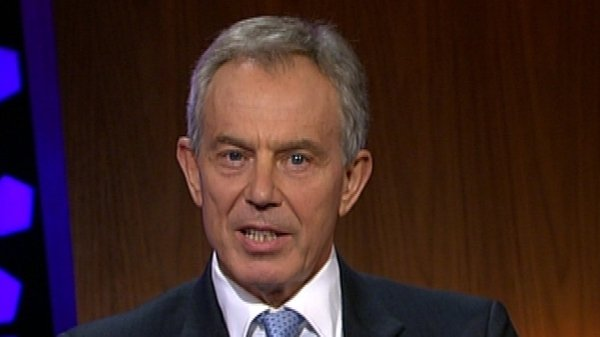 Former UK Prime Minister - Tony Blair