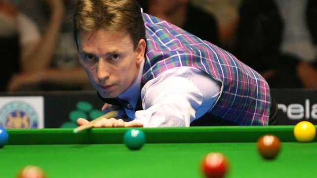 Ken Doherty has been beaten by Alan McManus