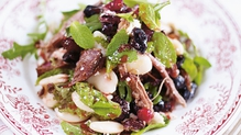 Lamb, Bean, Olive and Feta Salad