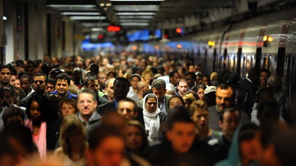 Gare du Nord - Rail services badly hit