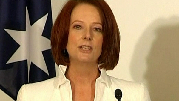 Julia Gillard - Convinced independent MPs to back her