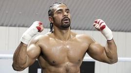 David Haye says he there is no fight date in mind - yet