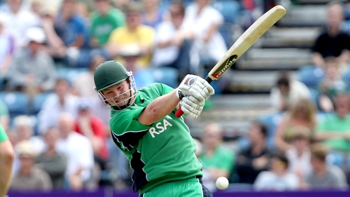 Ireland opening batsman Paul Stirling is more renowned for his work with the bat rather than his athleticism in the field