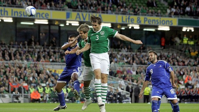 Kilbane scored eight times for the Boys in Green