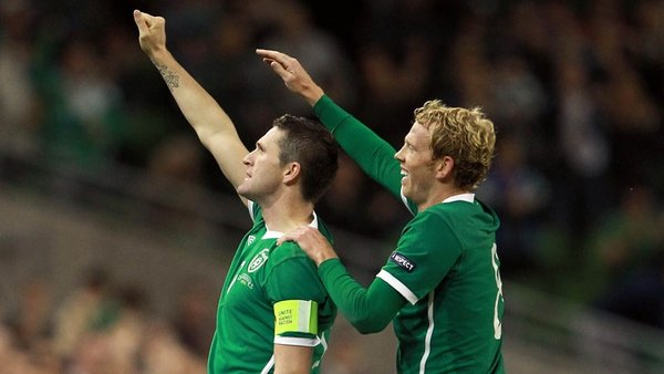 Robbie Keane found his scoring touch again for Ireland