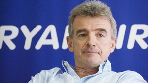 Ryanair's half yearly passenger numbers rose by 13% to 58 million