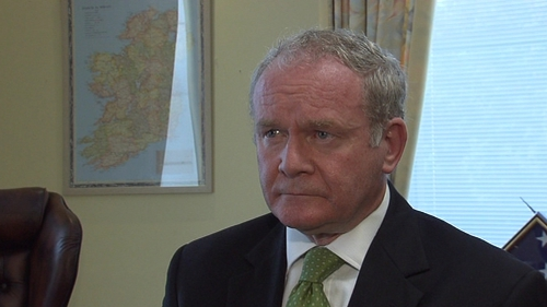 Martin McGuinness - Under scrutiny for his dealings with Fr James Chesney