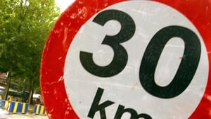 From 31 March, all residential roads between Dublin's canals will have a 30km/h speed limit