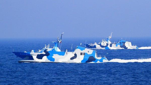 East China Sea - Disputed island chained claimed by China, Japan & Taiwan