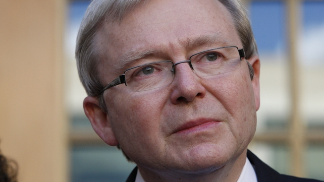 Kevin Rudd - Former prime minister ousted by Julia Gillard