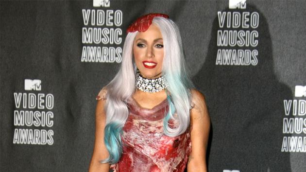 Every night is Halloween night for Gaga