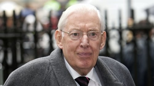 Ian Paisley - Fitted with pacemaker last Wednesday