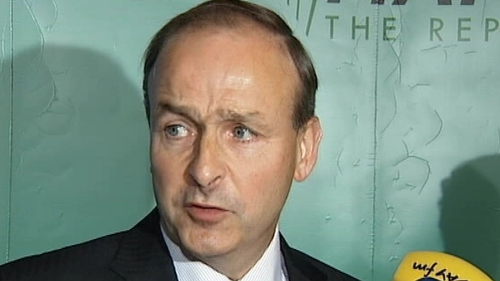 Micheál Martin - Was present with his wife and family at daughter's bedside in London