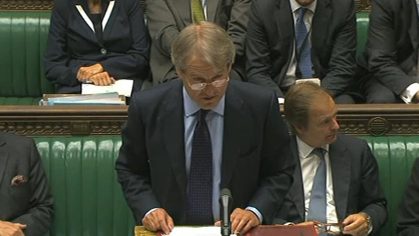 Owen Paterson - Recently met relatives of the victims