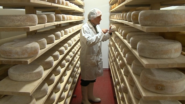 Ireland exported about €4.5m worth of cheese to Russia last year