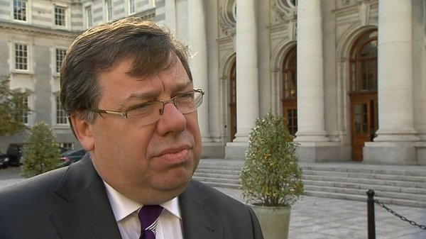 Brian Cowen - Apologises for quality of interview